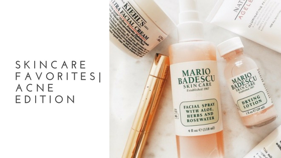Tasteful inspiration Blog- Acne Skincare